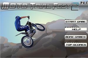 Jeu de moto trial
