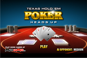 Jeu de poker heads-up