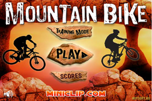 Jeu Course de Vélo Mountain Bike