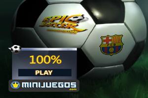 Jeu de foot Messi et Barcelone