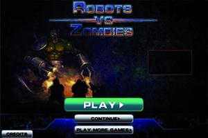 Jeu de Guerre Robots vs Zombies