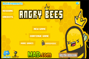 Jeu de guerre abeilles : Angry Bees