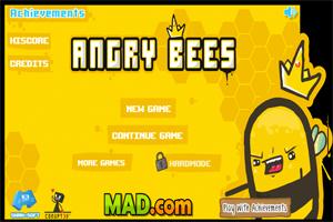 Jeu de guerre abeilles : Angry Bees