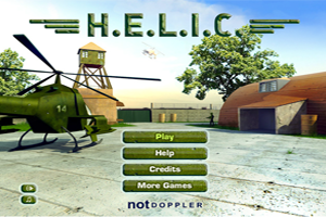 Jeu de Guerre helicoptère