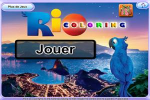 Jeu de coloriage Rio