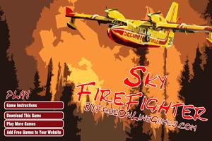 Sky Firefighter : Jeu de Pompier Canadaire