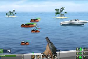 Jeu de tir : Speedboat Shooting