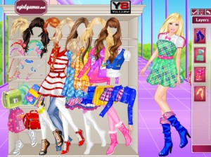 Jeu barbie school