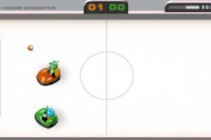 Jeu airhockey autotomponeuses