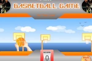 Jeu mini jeu de basket