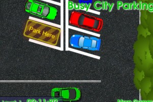 Jeu parking voiture busy city