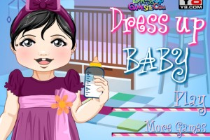 Jeu bebe dress up