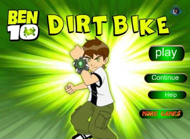 jeu ben 10 moto dirt bike