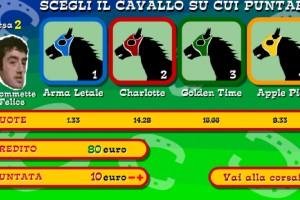Jeu course de cheval