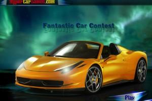 Jeu course de voiture fantastique