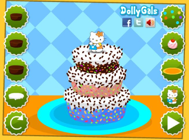 Jeux gateau gratuit en ligne les recettes populaires - Jeux de cuisine de gateaux d anniversaire ...