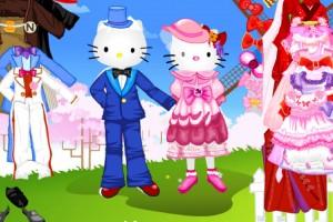 Jeu hello kitty mariage