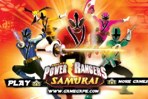 Jeu power rangers samurai