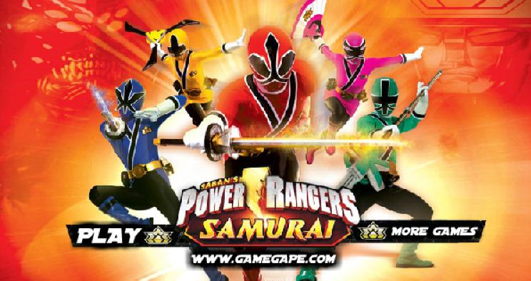 Jeu power rangers samurai - Jeux de power rangers super samurai ...