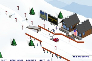 Jeu ski extreme