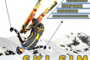Jeu ski freestyle