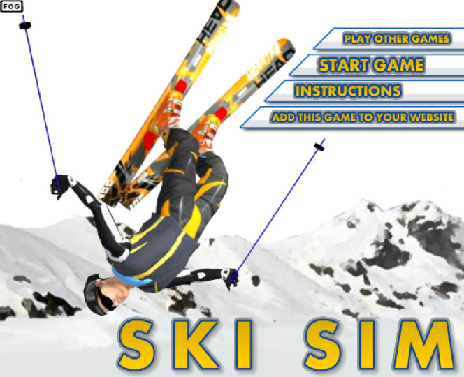 jeux de ski freestyle