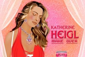 Jeu de maquillage de Katherine Heigl