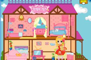 Jeu de Barbie maison