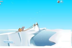 Jeu de lancer de pingouins