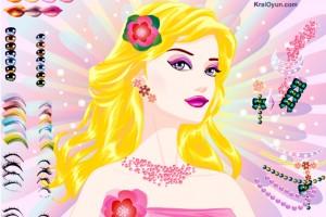 Jeu de maquillage élégant de Barbie