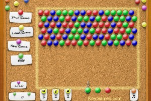 Jeu de Pin Board : Bubble Shooter