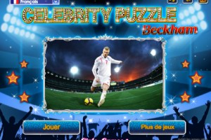 Jeu puzzle Beckham