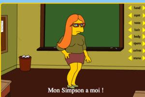 Jeu relooking Simpson