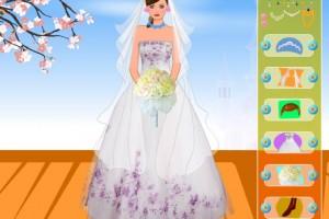 Jeu d'habillage robe de mariée