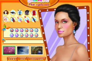 Jeu maquillage Angelina Jolie