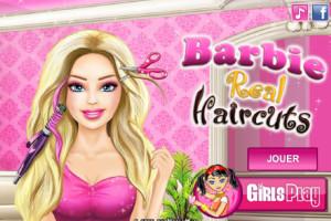 Jeu barbie coupe de cheveux