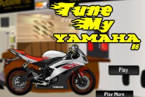 Jeu de moto gp Yamaha
