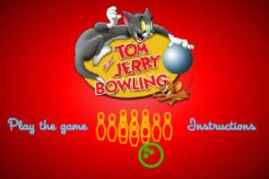 Jeu tom et jerry bowling