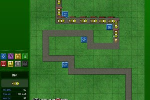 Jeu vehicule tower defense 3
