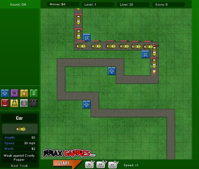 tower defence 3