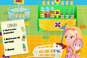 Bébé au supermarché