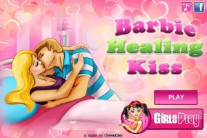Jeu de bisous Barbie et Ken