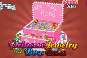 Jeu de Boîte à bijoux rose