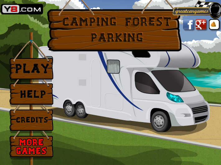 jeu de parking de camping car. Black Bedroom Furniture Sets. Home Design Ideas