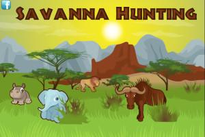 Jeu de chasse en Afrique