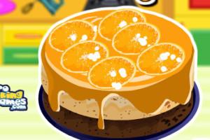 Jeu de Cheese cake aux oranges