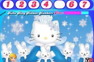 Chiffres Hello Kitty