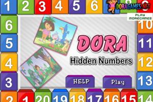 Jeu de Dora et chiffres cachés