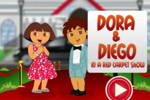Diego et Dora se font beaux