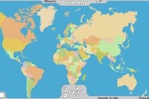 Jeu de géographie